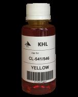 Canon CL-546 kit 100ml geel (KHL huismerk) CL546XLY-KHL