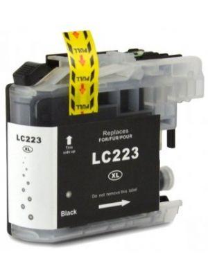 Brother LC-223 BK cartridge zwart huismerk LC223BK-KHL