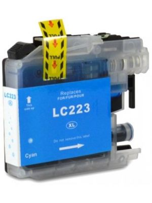 Brother LC-223 C cartridge cyaan huismerk LC223C-KHL