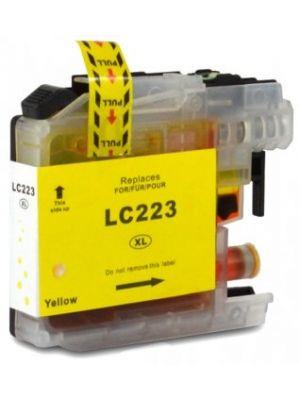 Brother LC-223 Y cartridge geel huismerk LC223Y-KHL
