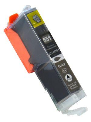 Canon CLI-551XLGY inktcartridge grijs (KHL huismerk) CLI551XLGY-KHL