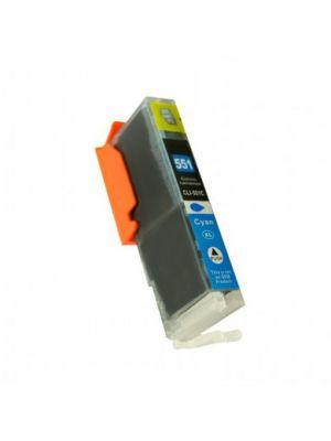 Canon CLI-551XLC inktcartridge cyaan met chip (KHL huismerk) CLI551CCLI551XLC-KHL