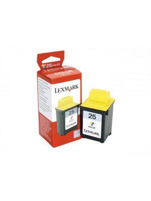Lexmark 25 (15M0125) inktcartridge kleur (origineel)   lex25